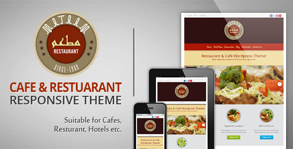 Mataam Restaurant - Responsive Wordpress Theme - Restaurants & Cafes Entertainment