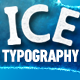 Ice Typography - GraphicRiver Item for Sale