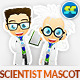 Scientist Mascot - GraphicRiver Item for Sale