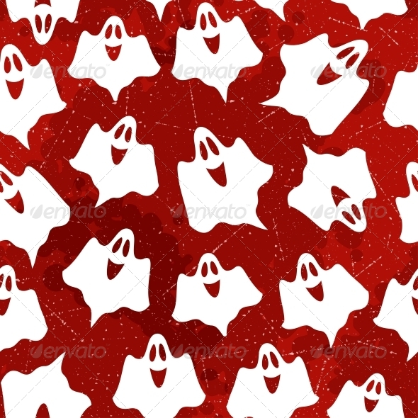 GraphicRiver Halloween Seamless Pattern 5468875