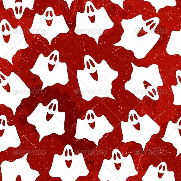 GraphicRiver Halloween Seamless Pattern 5468875