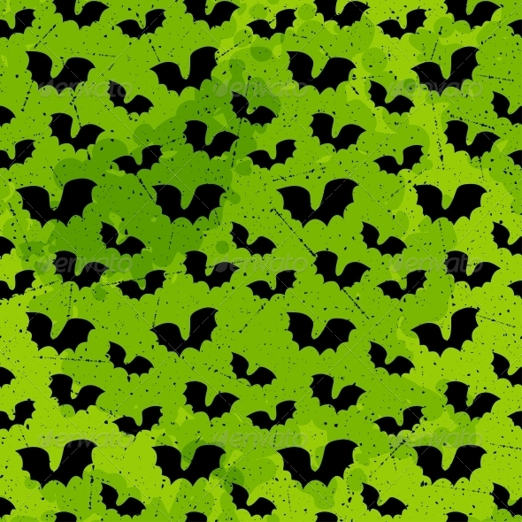 GraphicRiver Halloween Seamless Pattern 5468885