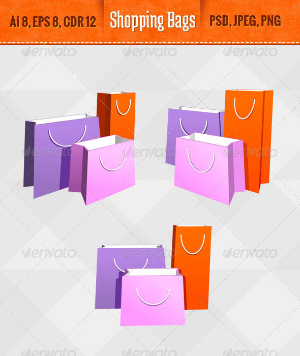 GraphicRiver Shopping Bags 5469082