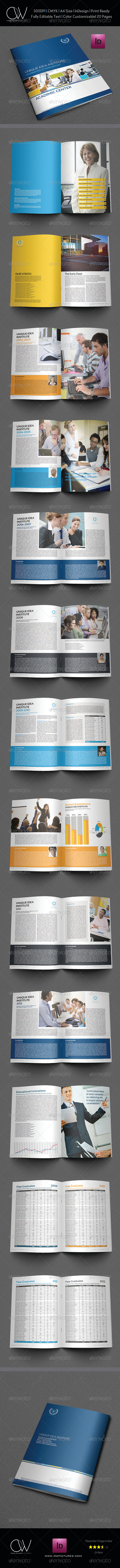 GraphicRiver Training Company Brochure Template 28 Pages 5469105