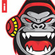 Gorilla Sound Luthung Logo - GraphicRiver Item for Sale