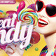 Flyer Great Candy Party - GraphicRiver Item for Sale