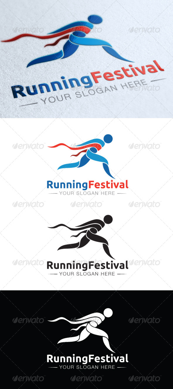 GraphicRiver Running Festival 5471226