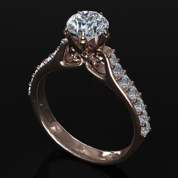 3DOcean CK Diamond Ring 003 5471293