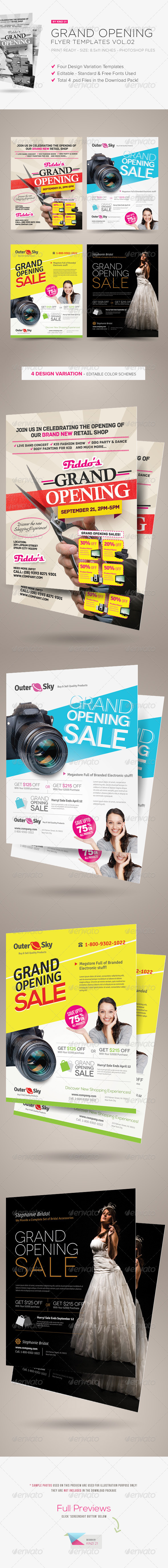Grand Opening Flyers Vol.02 - Corporate Flyers