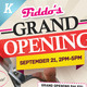 Grand Opening Flyers Vol.02 - GraphicRiver Item for Sale