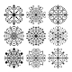 Decorative Vector Snowflakes Set - GraphicRiver Item for Sale
