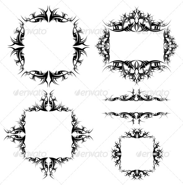GraphicRiver Ornamented Frames 5474245