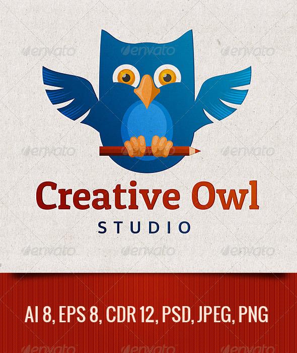 GraphicRiver Creative Owl 5475885