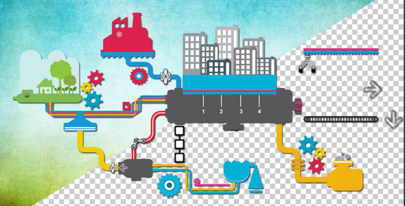 VideoHive Recycling City 5475915