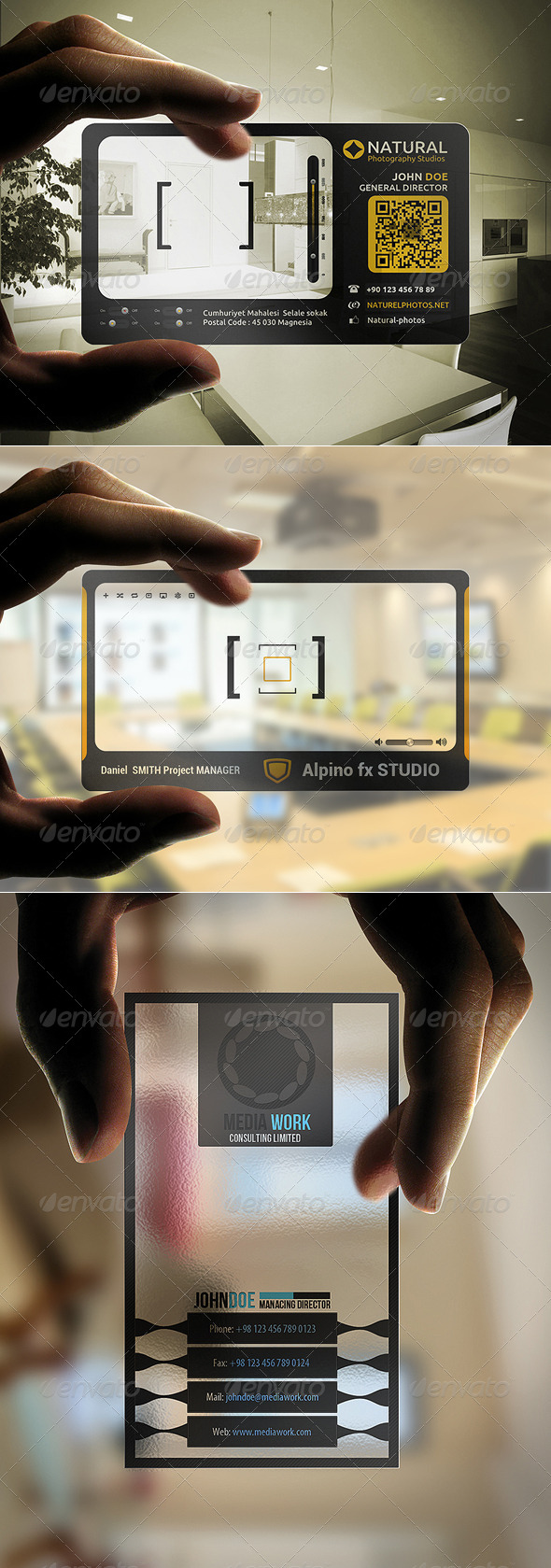 GraphicRiver Business Card BUNDLE 3 in 1 # 4 5476068