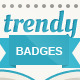 Trendy Badges - GraphicRiver Item for Sale