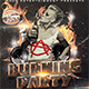 Burning Party Flyer - GraphicRiver Item for Sale