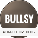 Bullsy - A Rugged & Bold Responsive Blog Theme - ThemeForest Item for Sale