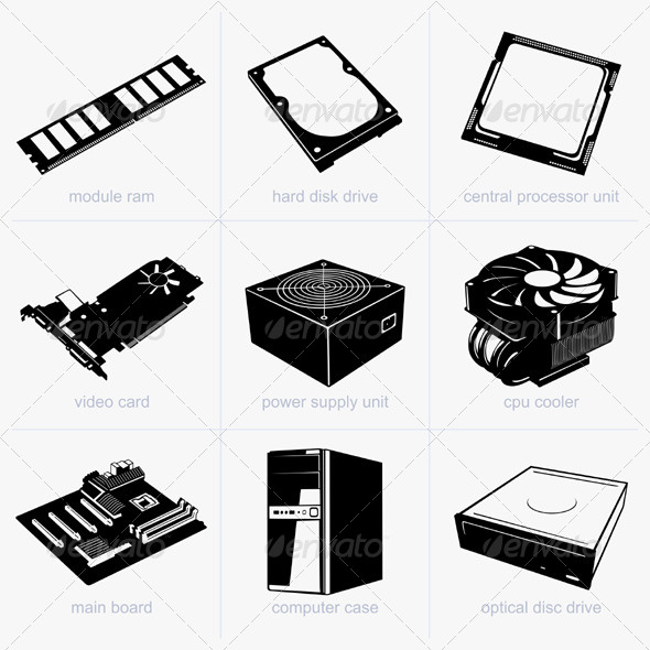 GraphicRiver Computer Components 5476621