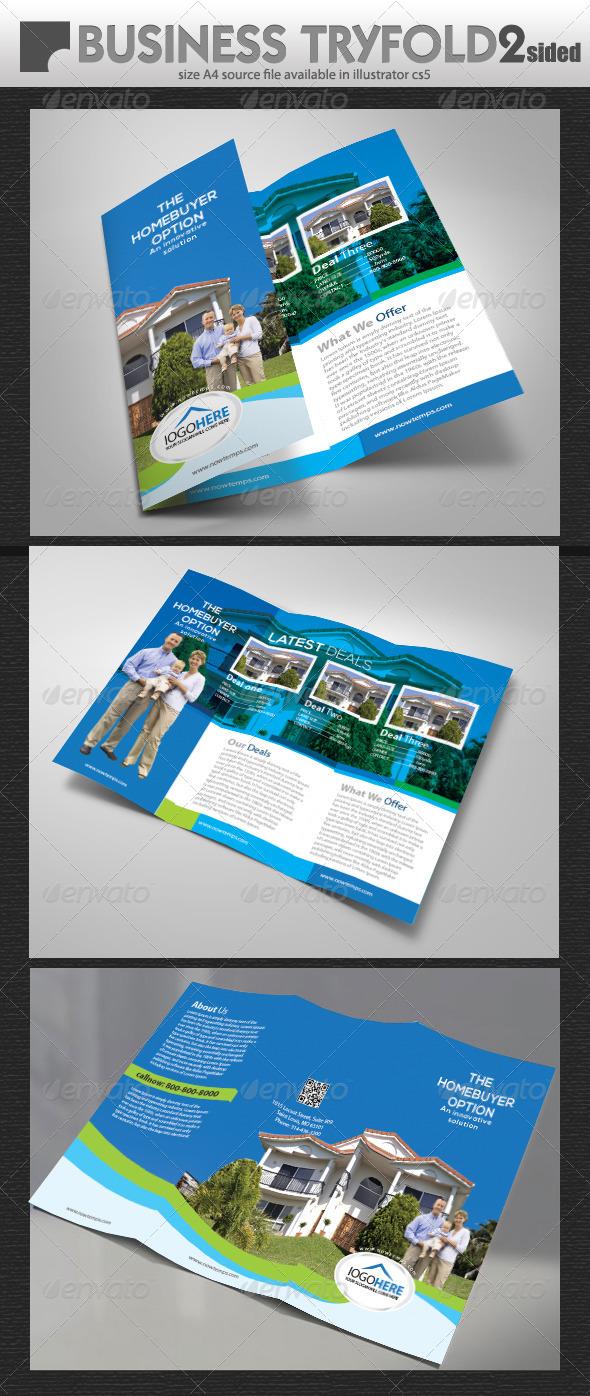 GraphicRiver Property tri-fold Brochure 5476906