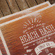 Beach Bash Typographic Flyer - GraphicRiver Item for Sale