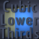Cubic Lower Third - VideoHive Item for Sale