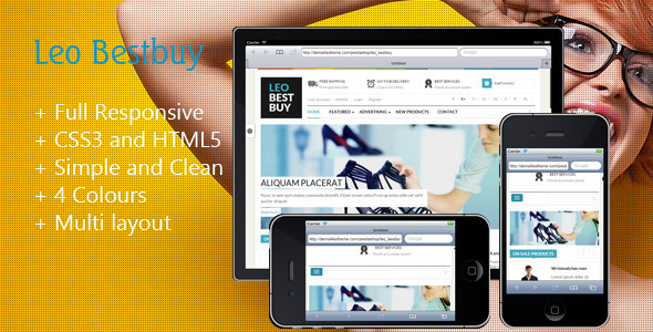 ThemeForest Leo Best Buy Prestashop Theme 5477883