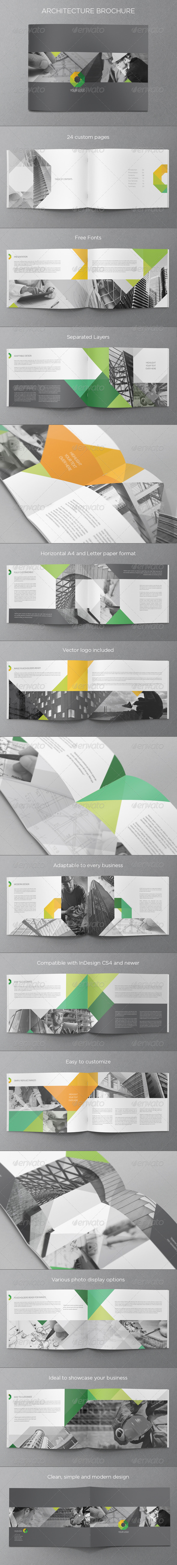GraphicRiver Modern Architecture Brochure 5478285