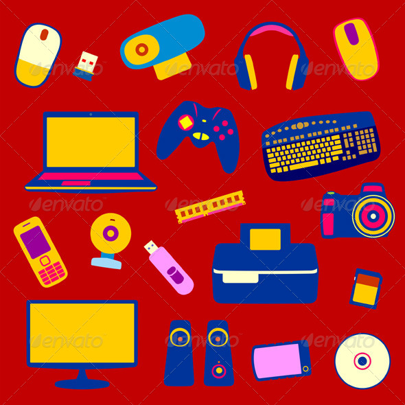 GraphicRiver Computer Equipment 5479879
