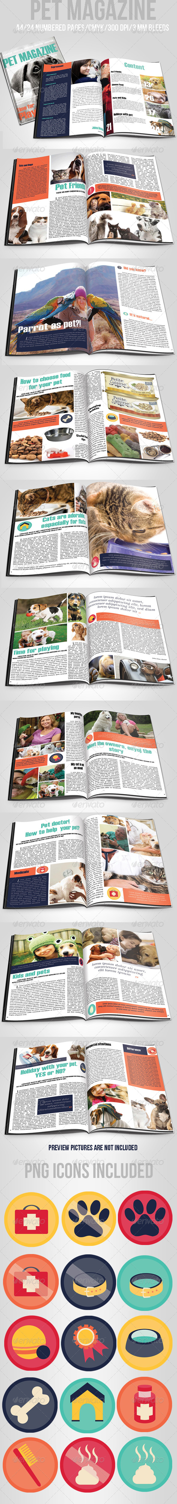 GraphicRiver Pet Magazine 5481110