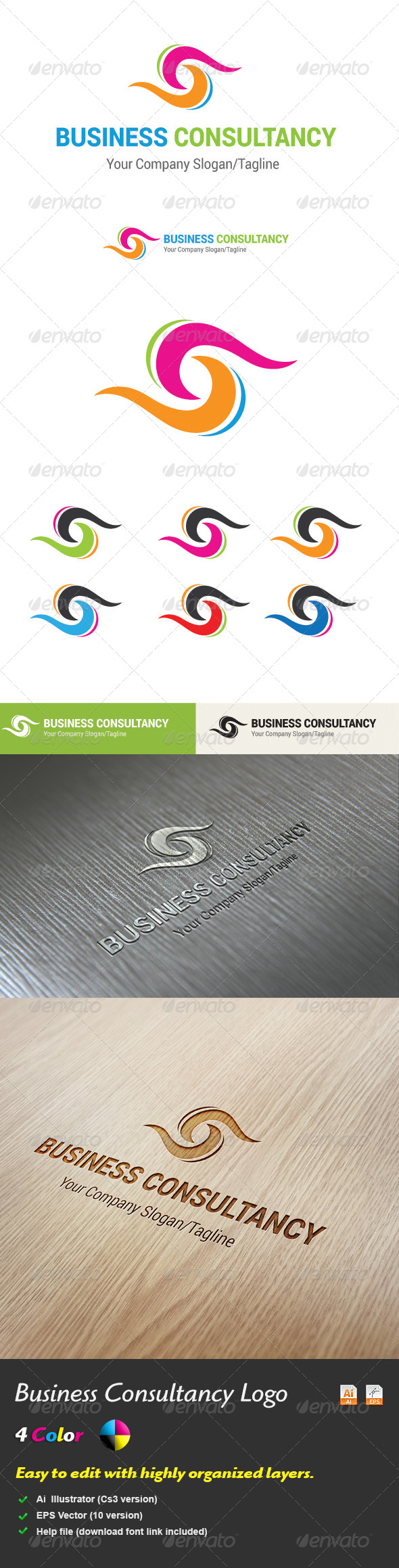 GraphicRiver Business Consultancy Logo 5467398