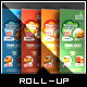 Yummy Tasting - Roll-Up Banner Template - GraphicRiver Item for Sale