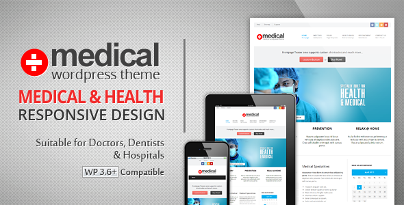 Medical - Premium Wordpress Theme - Health & Beauty Retail