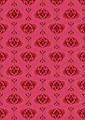 Pink Dark Background with Old Classic Pattern - PhotoDune Item for Sale