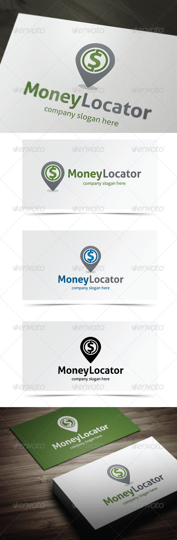 GraphicRiver Money Locator 5483788