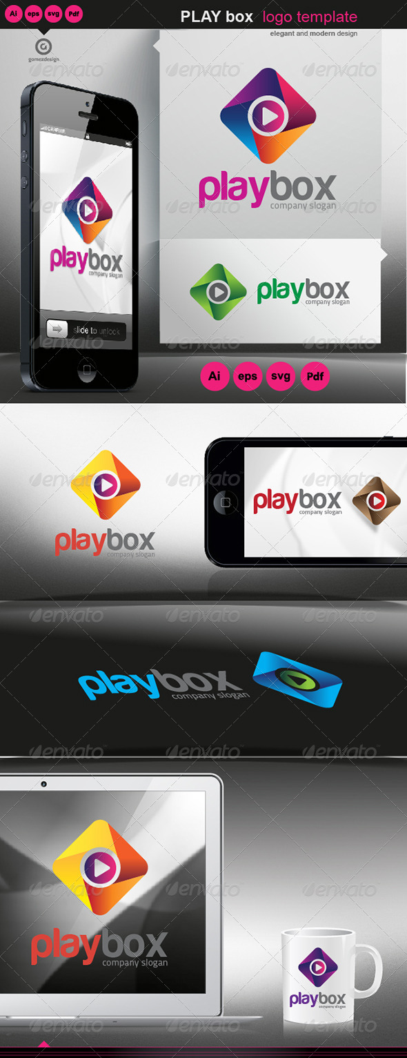 GraphicRiver Play Box 5477579