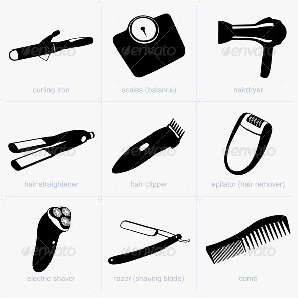 GraphicRiver Household Objects 5484942