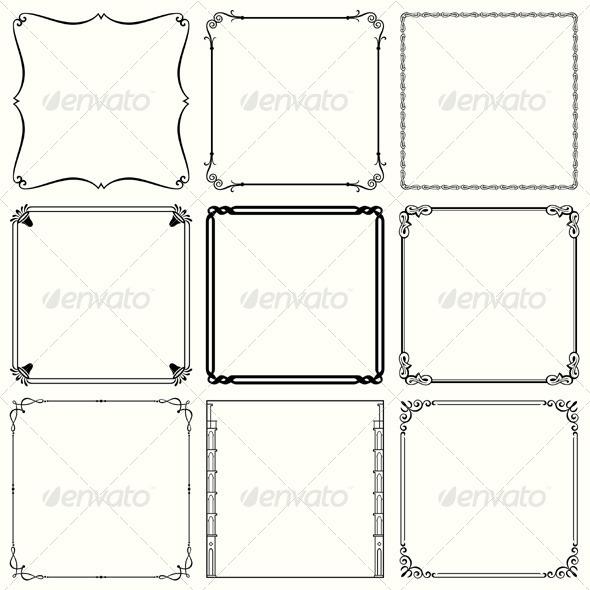 GraphicRiver Decorative Frames 5484950