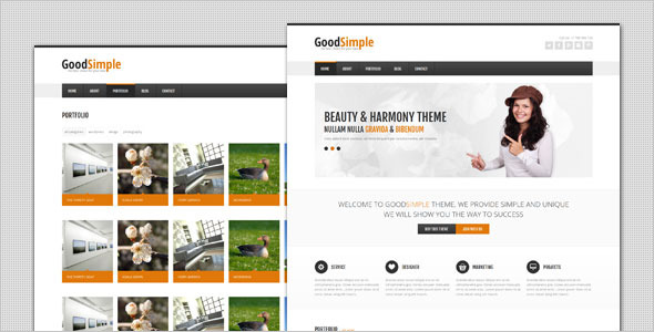 GoodSimple - Clean Business WordPress Theme
