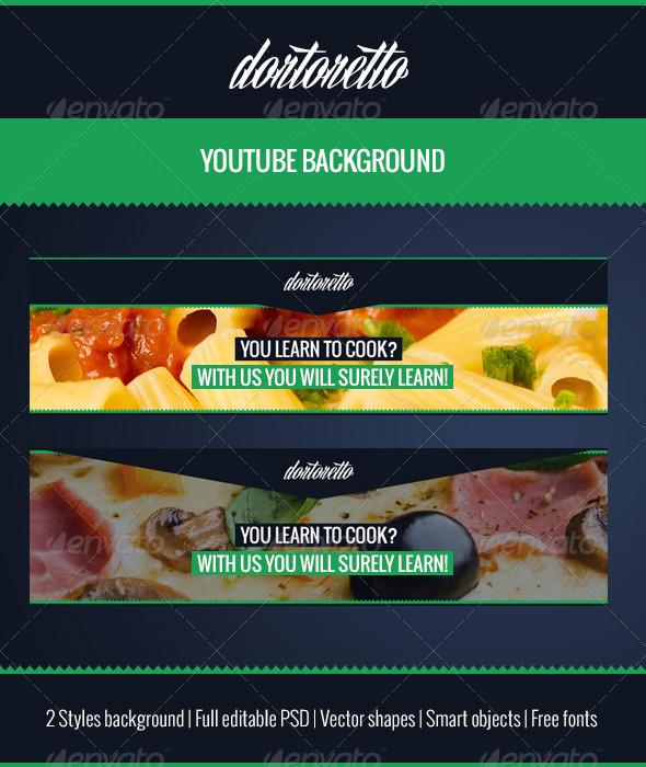 GraphicRiver Dortoretto Youtube Background 5482218