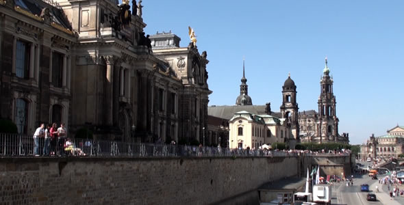 VideoHive Historic Street in Dresden 5485819