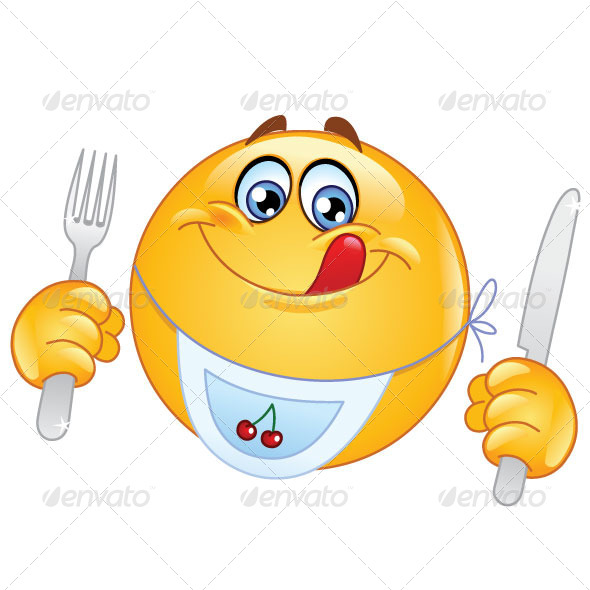 GraphicRiver Emoticon Dinner 5485820