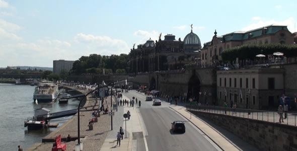 VideoHive Tourist Walk in Historic City 2 5485903