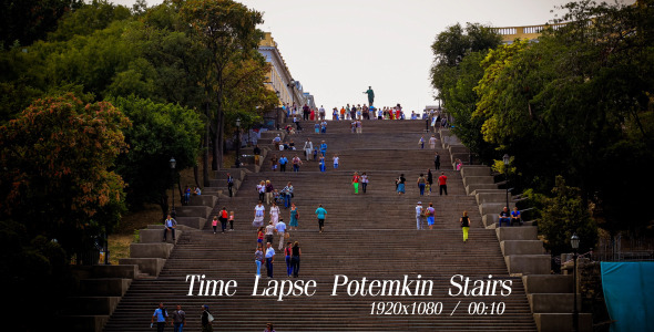 VideoHive Time Lapse Potemkin Stairs 5485911