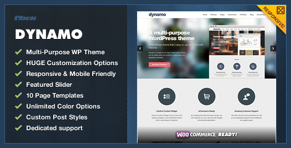 Dynamo - Multi-Purpose Business WordPress Theme - Business Corporate