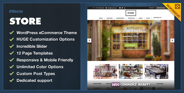 eCommerce has been our biggest category in 2013, so it's only natural that we've been putting a lot of focus into it. All of our recent theme releases have