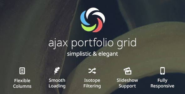 Ajax Portfolio Grid for WordPress - CodeCanyon Item for Sale