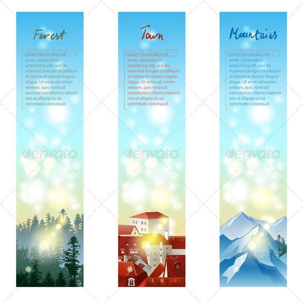 GraphicRiver Landscape Banners 5487689