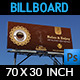 Cafe Billboard Template - GraphicRiver Item for Sale