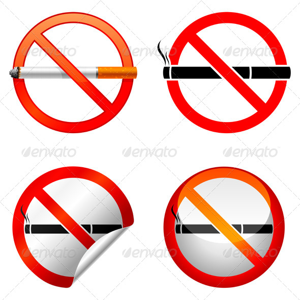 GraphicRiver No Smoking Sign 5488908